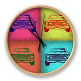Chevy Camaro Pop Art 1 Horloge par NaxArt