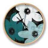 Bloomer Squares XVI Horloge par James Burghardt