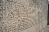 Wall of Names at Vimy Memorial