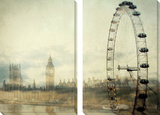 Londres Tableau multi toiles par Irene Suchocki