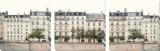 Apartments in Paris Along the River Tableau multi toiles par Suchocki