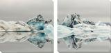 Iceberg Tableau multi toiles par Irene Suchocki