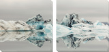 Iceberg Tableau multi toiles par Suchocki