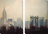 New York Tableau multi toiles par Irene Suchocki