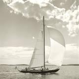 Sunlit Sails II Giclée par Michael Kahn
