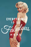 Fabulous Marilyn - Blue