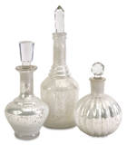 Cavalli Glass Bottles with Stoppers Set