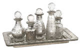 Macaire Mini Bottles w/ Tray - Set of 6