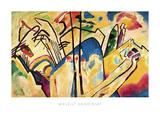 Composition no.4, 1911 Reproduction d'art par Wassily Kandinsky