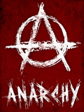 Anarchy Symbol Resistance Poster