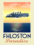 Fhloston Paradise Retro Travel Poster