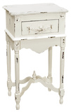 White Milkpaint Side Table