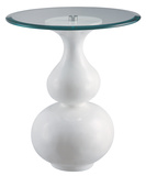 White Merengue Table