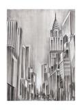 Art Deco Cityscape I