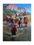 The Crossing Reproduction d'art par Jack Sorenson