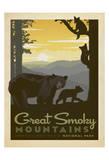 Great Smoky Mountains National Park Reproduction d'art par Anderson Design Group