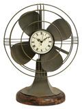 Thatcher Vintage Fan Table Clock