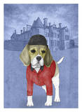 Beagle with Beaulieu Palace
