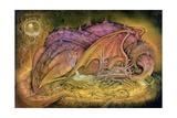 Sleeping Dragon on Gold Hoard