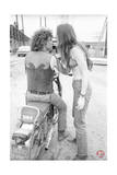 Woodstock- Michael Lang Motorcycle (Black and White)