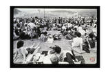 Woodstock- Onlookers (Black and White)