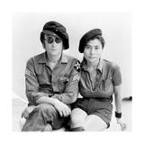 John Lennon - John and Yoko by the Harbor 1971