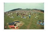 Woodstock- Panorama Behind the Crowd