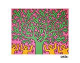 Sans titre Reproduction d'art par Keith Haring