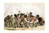 Danse du bison chez les Indiens d'Amérique du Nord