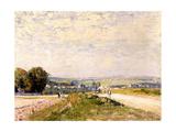 Chemin de Montbuisson à Louveciennes