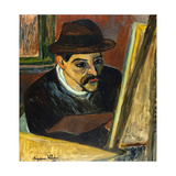 Utrillo devant son chevalet
