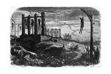 Gibet de Montfaucon - Notre-Dame de Paris  édition Perrotin  1844  page 482