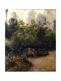 Jardin potager à l'Hermitage  à Pontoise