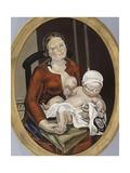 Maternité (Ovale II)  la mère et l'enfant
