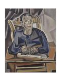 L'Ecolier écrivant (la petite fille à la plume)  vers 1920  Paris  musée d'Art moderne