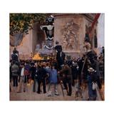 Les funérailles de Victor Hugo  place de l'Etoile (1er juin 1885)