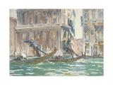 Vue de Venise (sur le canal)  vers 1906