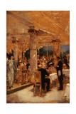Armenonville  le soir du Grand Prix (esquisse)  1905