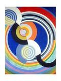 Rythme numéro 2 Giclée par Robert Delaunay