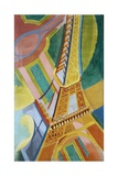 Tour Eiffel Giclée par Robert Delaunay