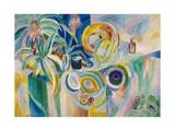 Symphonie colorée Giclée par Robert Delaunay
