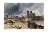 Notre-Dame vue du quai de la Tournelle