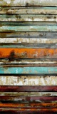 Reclaimed Color Study - Dimensional Metal Wall Art
