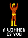 A Winner Is You Video Game Poster