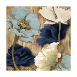 Blue Joyful Poppies II
