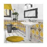 Sundance Bath II (Yellow) Giclée premium par Elizabeth Medley