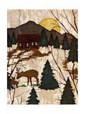 Cabin in the Woods II Giclée premium par Nicholas Biscardi