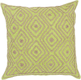 Atlas Birdseye Linen Pillow Down Fill - Lime