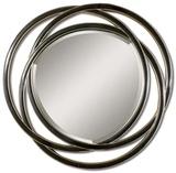 Odalis Entwined Circles Black Mirror