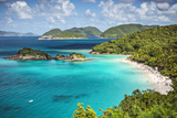 Trunk Bay  St John  United States Virgin Islands